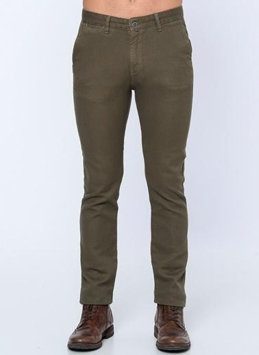 Slim Fit Kanvas Pantolon-Adze by Cazador